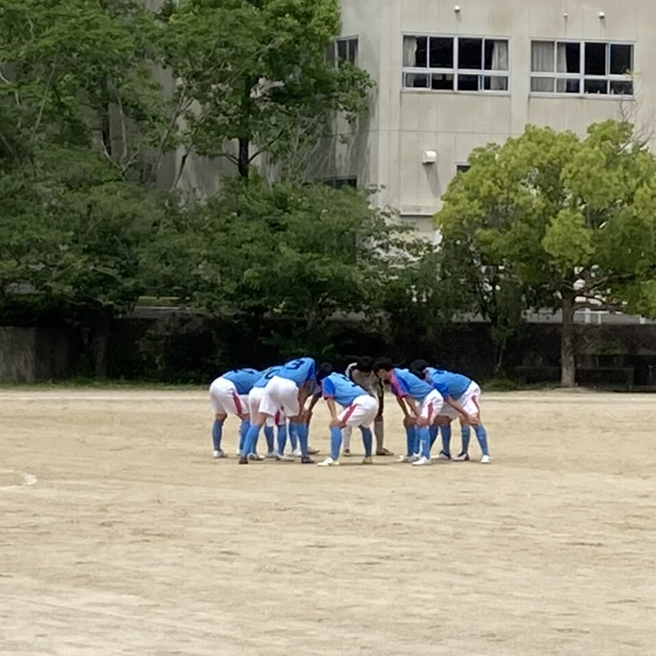 サッカー部高校総体2回戦試合結果