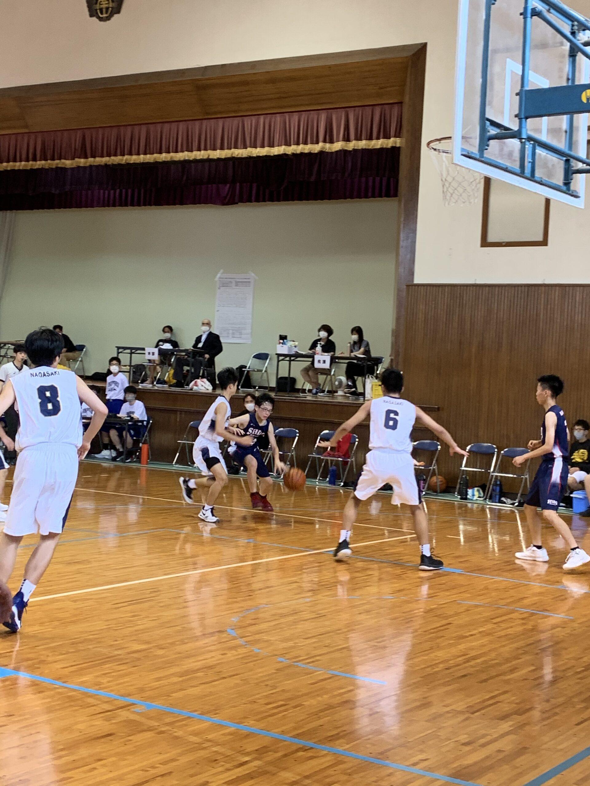 中総体バスケットボール試合結果