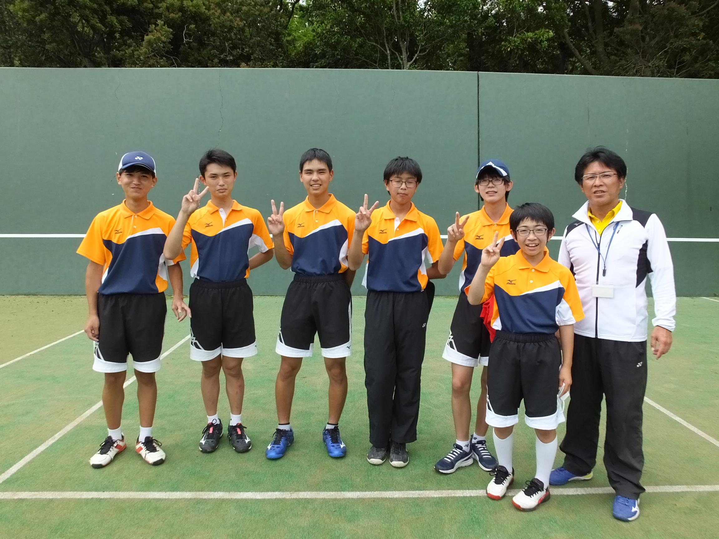 中総体ソフトテニス競技結果