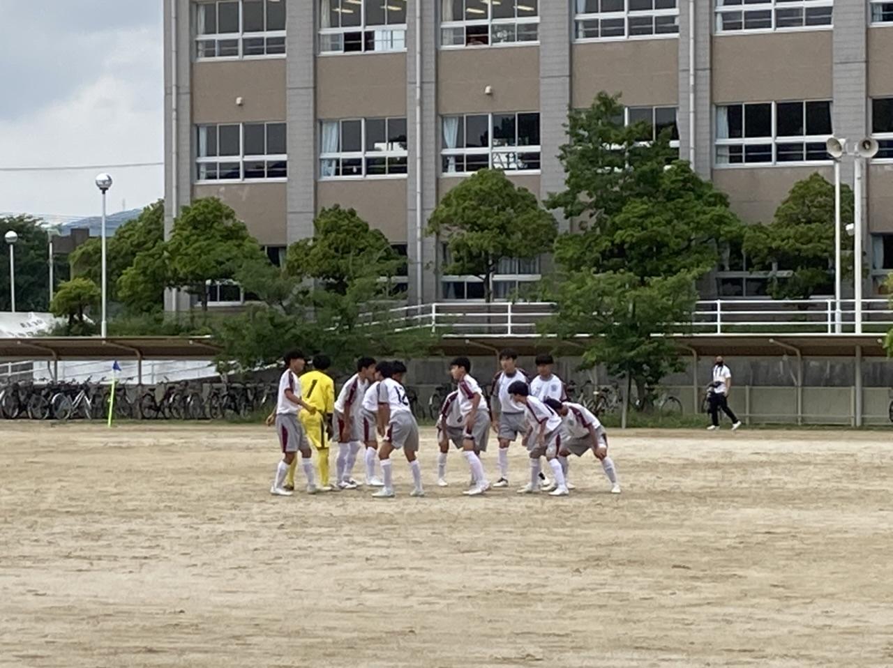 サッカー部高校総体試合結果