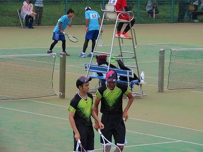 ソフトテニス部 九州高総体(個人戦)